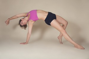 Maria Yoga Wild Thing Pose