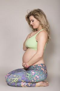 Pregnancy Kneeling Yoga Pose